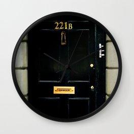 221B Baker Street BBC Sherlock Wall Clock