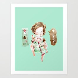 What do you want? Art Print