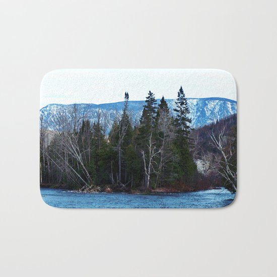 Blue Mountain River Bath Mat
