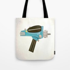 Set phasers to stun! Tote Bag