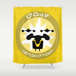 Gold Squadron (Alliance) Shower Curtain