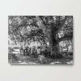 The afternoon gathering Metal Print