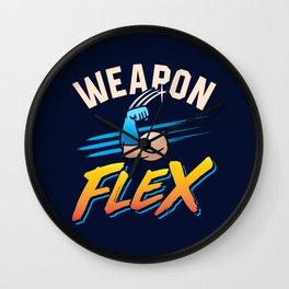 Weapon Flex Wall Clock