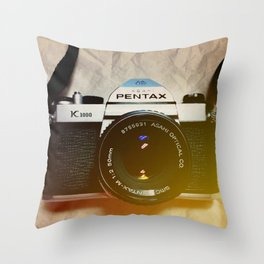 Pentax Dreams Throw Pillow