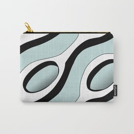 Chains Pattern - Blue Carry-All Pouch