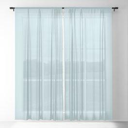 QUEEN ELIZABETH II - THE YOUNG QUEEN IN PROFILE Sheer Curtain