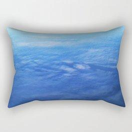 Ombre Arial Rectangular Pillow