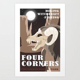 CPS: Four Corners Art Print
