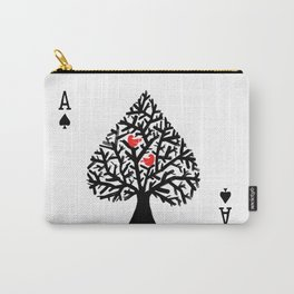 Ace of spade Carry-All Pouch