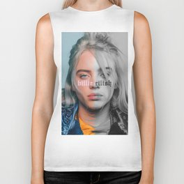 Billie Eilish Poster Biker Tank