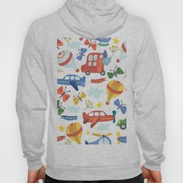 Kids Air Transportation Hoody
