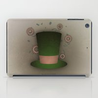mad hatter iPad Cases featuring Mad Hatter by coalotte