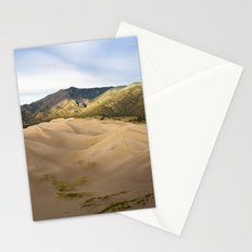Great Sand Dunes Framed by the Sangre de Cristo Mountains Stationery Cards
