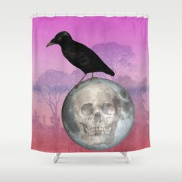'Sit on my finger, sing in my ear, O littleblood.' Shower Curtain