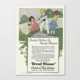 1920 Advert Canvas Print