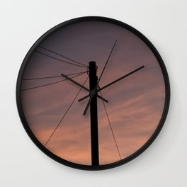Universal connection I Wall Clock
