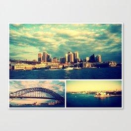 Postcards from Sydney Canvas Print