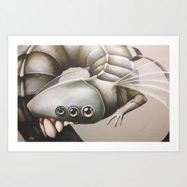 toothy Art Print