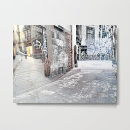 Force the corners, and horn in on the commotion, 3 Metal Print