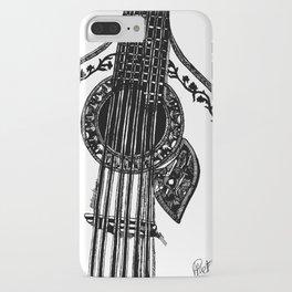 Fado Guitar iPhone Case