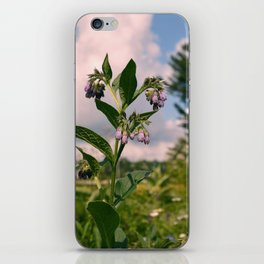 Healing Comfrey Plant with Flowers iPhone Skin