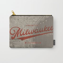 Milwaukee Map Carry-All Pouch