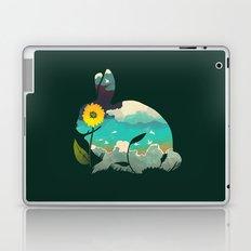 Rabbit Sky - (Forest Green) Laptop & iPad Skin
