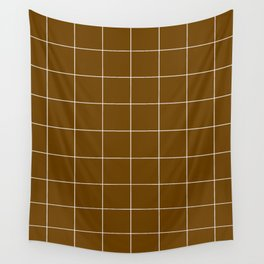 Minimal_LINES_EARTH Wall Tapestry