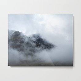 Scotland as it should be | landscape - travel - photo - nature - photography - mountains - mood Metal Print