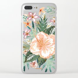 SMELLS LIKE MAUI MORNINGS Clear iPhone Case
