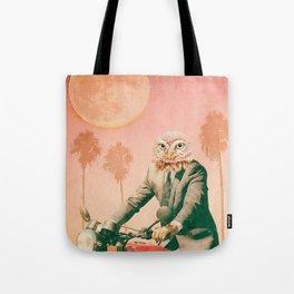 Hotline Miami Inspired Owl Tote Bag