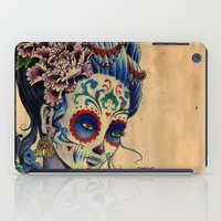 fitzgerald iPad Cases featuring Marie de los Muertos by Cathy FitzGerald