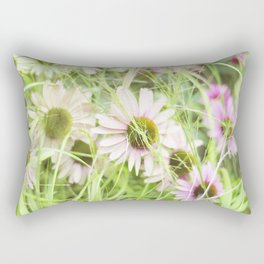 Rose Fleur Rectangular Pillow