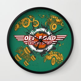 Offroad Extreme Sport Wall Clock