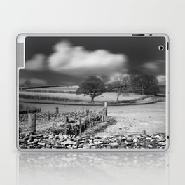 Cloud Wall Laptop & iPad Skin