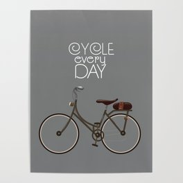 Cycle Every Day, Poster