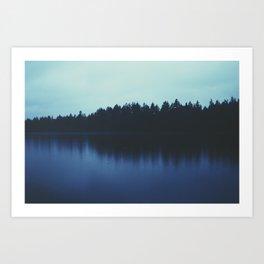 Calm Reflection Art Print