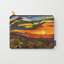 South Mountain Sunset Carry-All Pouch