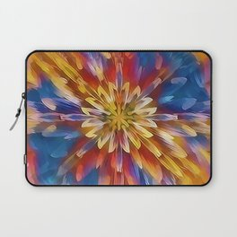 Color Flow Abstract Laptop Sleeve