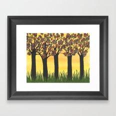 Summer Meadow Framed Art Print