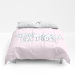 Feminist As Fuck Comforters