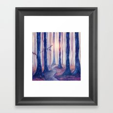 Track 18: Spirit of the Forest c.o. Framed Art Print