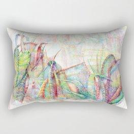 Vegetal color chaos Rectangular Pillow