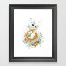 BB8 Star . Wars Framed Art Print