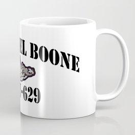 USS DANIEL BOONE (SSBN-629) BLACK LETTERS Coffee Mug