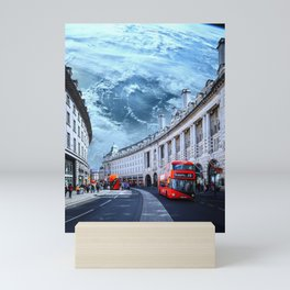London Beneath Earth Mini Art Print
