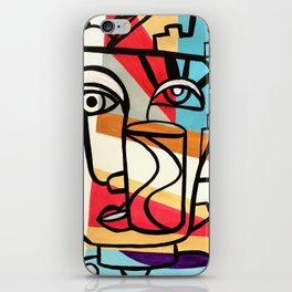 URBAN POP ART - ORIGINAL ART COLORFUL ROBERT R iPhone Skin