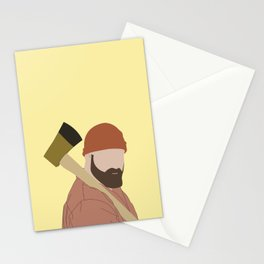 > axe Stationery Cards