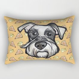 Peter loves pizza and cheese Rectangular Pillow