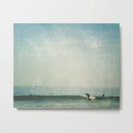 surf days Metal Print